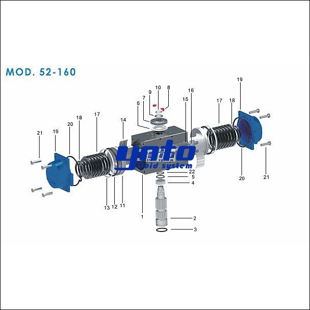 远通MOD52-160气动执行器